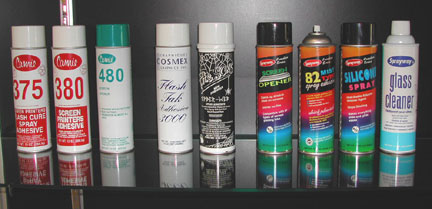 Screen Printing Accessories Cosmex Graphics